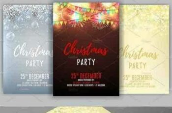 1708203 Set of Christmas party flyes 986959 7