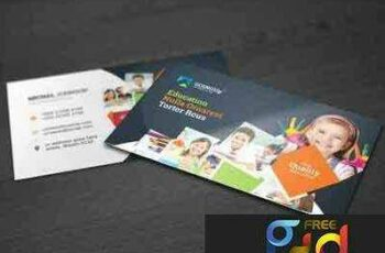 1708205 Education & Training Business Card 2