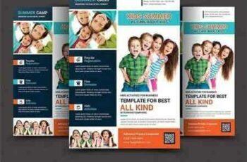1708208 Kids Summer Camp Flyer Templates 1456318 5