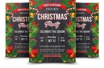 1708220 Christmas Party Flyer 2031719