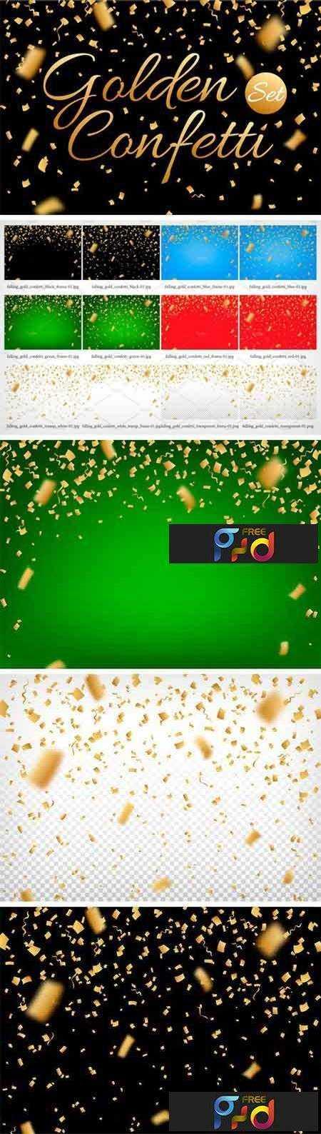 1708222 Confetti, Glitters. Vector + JPG + PNG 2053897 1