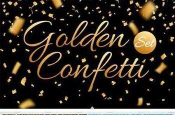 1708222 Confetti, Glitters. Vector + JPG + PNG 2053897 6