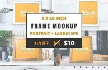 1708226 Portrait+Landscape Frame Mockup 1456274 5