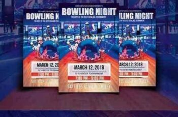 1708230 Bowling Night Flyer Template 1792235 6