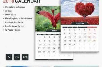 1708238 2018 Calendar 1858512 7