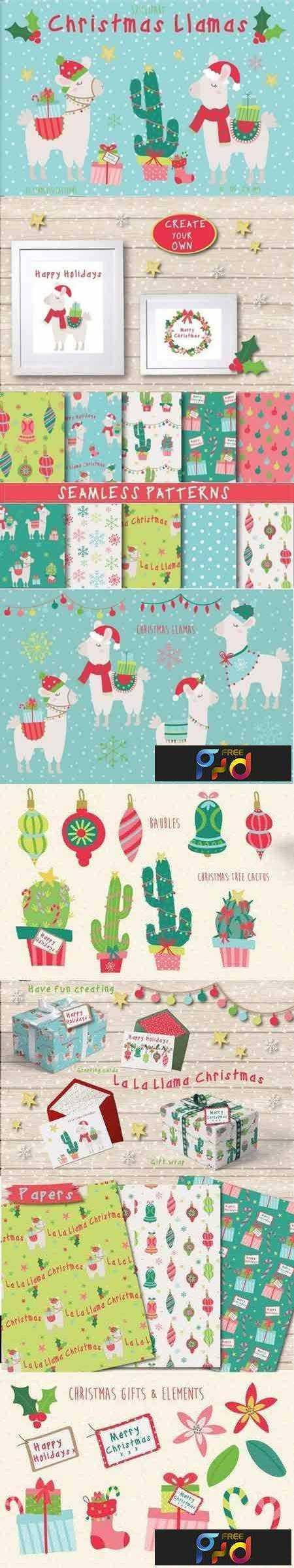 1708244 Christmas Llamas 1980157 1