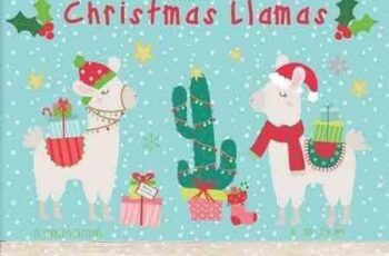 1708244 Christmas Llamas 1980157 5
