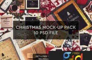 1708246 Christmas Mock ups 10 PSD Pack 2 2028974 2