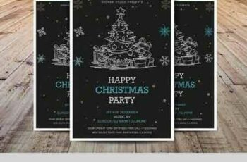 1708252 Christmas Party Flyer Template 2017107 6