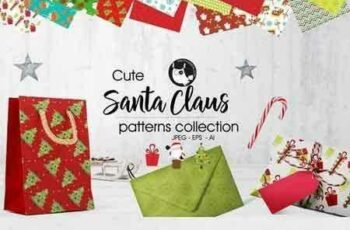 1708259 SANTA CLAUS Pattern collection 2018370 3