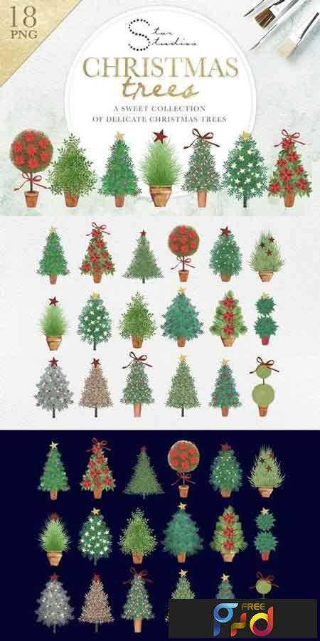 1708280 Christmas Trees 2079428 1