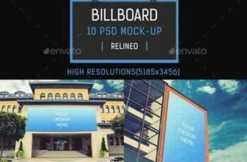 1708292 Billboard Mock-up Pack Vol.4 19274130 10