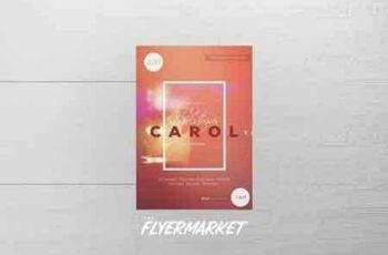 1708296 Christmas Carol PSD Flyer Template 2062479 5