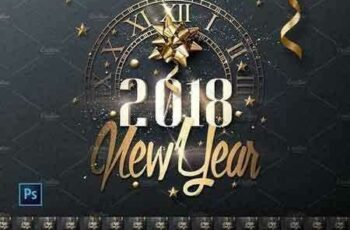 1709008 New Year Invitation - Psd Package 1981625 7