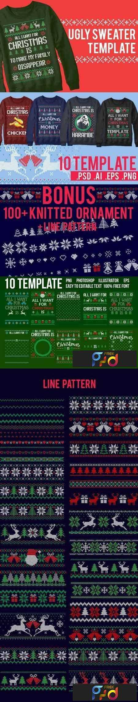 1709012 Ugly Sweater Templates 2000928 1