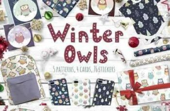 1709013 Winter Owls patterns, illustrations 1999674 7