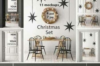 1709014 Christmas mockup in the interior p.2 2072093 5