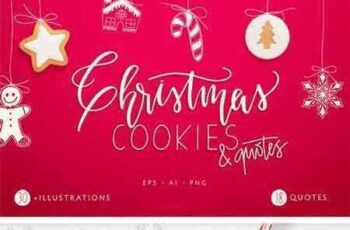 1709045 Christmas Cookies and Quotes 2085839 2