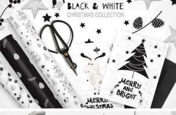 1709051 White and Black Christmas Collection 2084449 5