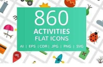 1709052 860 Activities Flat Icons 2056027