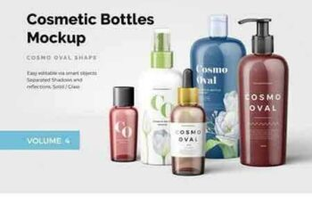 1709058 Cosmetic Bottles Mockup Vol.4 2068617 6