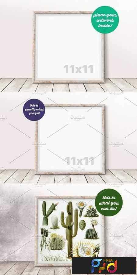 1709077 Square Frame Mockup on the Floor 1825858 1