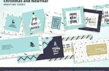 1709107 Christmas and New Year's Cards 2093727