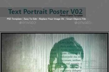 1709117 Text Portrait Poster V02 15820967 6