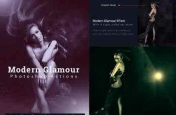 1709133 Modern Glamour Effect Actions 16170169 6