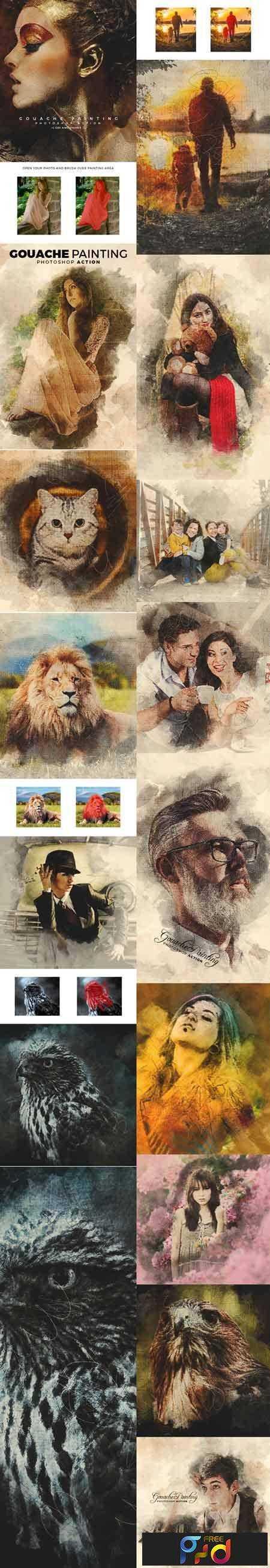 1709135 Gouache Painting 16135141 1