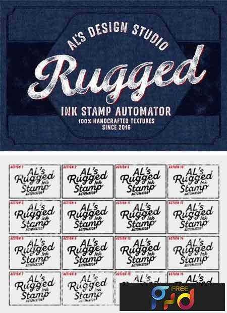 1709146 AL's Rugged Ink Stamp Automator 2128030 1