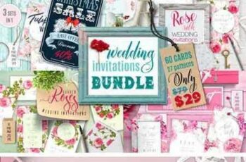 1709160 Wedding Invitations BUNDLE 2111148 5