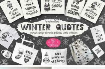 1709164 Winter Quotes, Animals, Cards 2113533 7