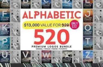 1709166 520 A to Z Logos Bundle 1294156 3