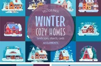 1709175 Winter Cozy House Collection 2099158 6