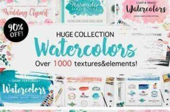 1709182 Huge Watercolor Bundle 2114586 4