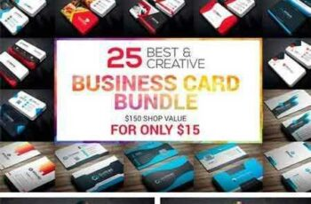 1709196 25 Business Card Bundle 2115789 2