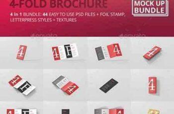 1709203 4-Fold Brochure Mockup Bundle 20411533 3