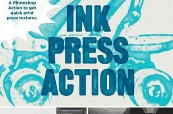 1709213 Ink Press Type Action 587769 7