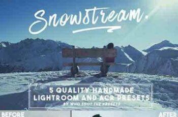1709214 Snowstream Presets (LR & ACR) 698103 8