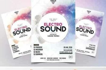 1709230 Electro Sound - Party PSD Flyer 2102643 7