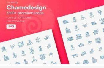 1709237 3300+ Line Icons 2130251 2