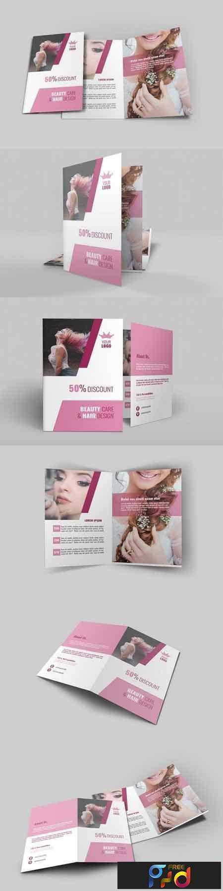 1709263 Hair Style Bi-Fold Brochure 1930669 1