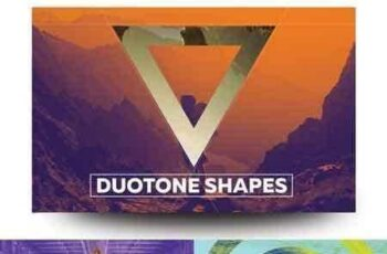 1709273 Duotone Geometric Shapes 1966271 3