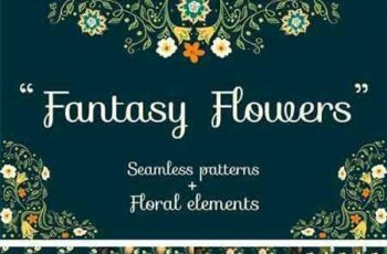 1709275 Fantasy Flowers Seamless Patterns 2147584 4