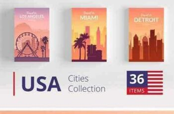 1709278 USA Cities Landscape Collection 2101583 4