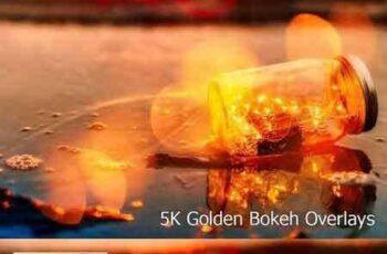 1709292 5K Golden Bokeh Overlays 1788479 3