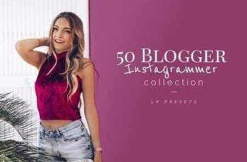 1709294 50+ Blogger Instagrammer LR Presets 1800145 6