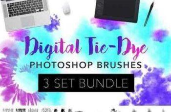 1801001 Digital Tie-dye 3 Brush Bundle 1800140 3