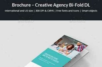 1801011 Brochure – Creative Agency Bi-Fold DL 21138085 5